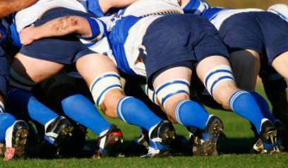 Sports like rugby can be a major cause of plantar fasciitis